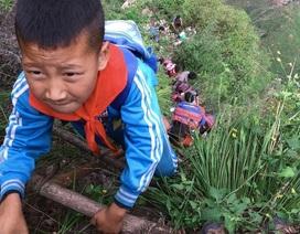 Trung Quốc di dời ngôi làng cao 800m trên núi