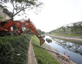 """Hà Nội triển khai gói thầu lớn nhất """"hồi sinh"""" sông Tô Lịch"""
