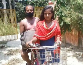 Không đủ tiền trả xe khách, thiếu nữ đạp xe hơn 1.200 km đưa bố về quê