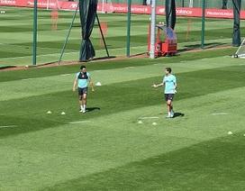 5 điều thú vị trong buổi tập luyện trở lại của Liverpool