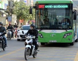 Tăng lương cho lái xe và nhân viên phục vụ xe buýt thường và BRT
