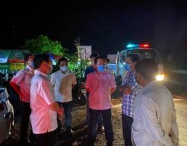 Phong tỏa bến xe suốt đêm vì hành khách về từ Campuchia ho, sốt