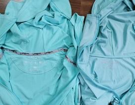 Phát hiện ổ kinh doanh áo chống nắng giả ở chợ Ninh Hiệp