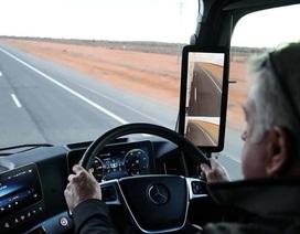 Mercedes nhanh chân vượt Audi về công nghệ gương chiếu hậu mới