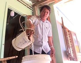Người dân đảo Bé khát nước sạch
