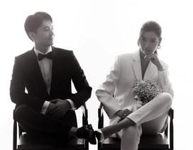 Hé lộ những bức ảnh cưới đầu tiên của Á hậu Thuý Vân