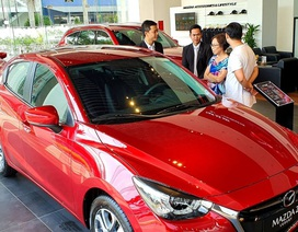 Ô tô quay đầu tăng giá dù chưa chốt ngày giảm 50% lệ phí trước bạ