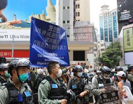 Hàng nghìn người Hong Kong biểu tình phản đối dự luật an ninh