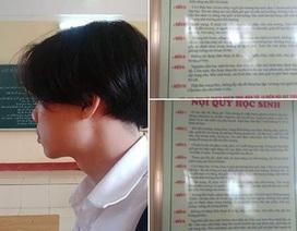 Tranh cãi xung quanh chuyện nam sinh Hải Phòng nuôi tóc dài bị đình chỉ học