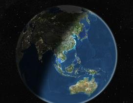 Mảng kiến tạo khổng lồ nằm dưới Ấn Độ Dương đang vỡ đôi