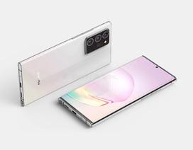 Những hình ảnh và video thiết kế hoàn chỉnh của Galaxy Note20+