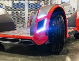 Có thể thiết kế bánh ô tô khác đi không?