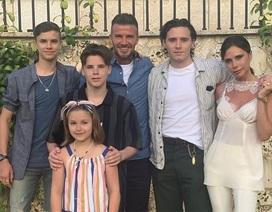 Choáng ngợp trước cách đón sinh nhật hoành tráng của gia đình Beckham