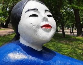 Hội Mỹ thuật Việt Nam lên tiếng về vụ sơn lại tượng ở Công viên Thống Nhất