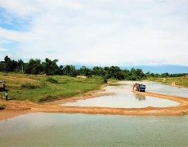 Vụ chặn sông hút cát: Chính quyền vào cuộc, trả nguyên trạng cho dòng sông