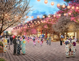 Sắp ra mắt tuyến phố đi bộ Nhật Bản ngay gần Thủ đô