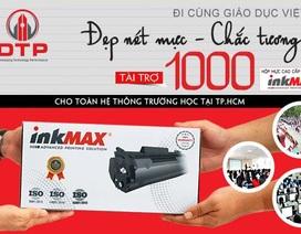 Hỗ trợ sau Covid: Sẽ tặng 1000 hộp mực inkMax cho các trường tại TP.HCM