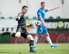 Thủ môn Filip Nguyễn thi đấu tuyệt hay ở giải CH Séc