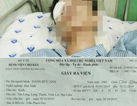Ngỡ ngàng quyết định tạm đình chỉ vụ nam sinh bị đánh chấn thương não