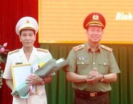 Phó Giám đốc Công an Quảng Ngãi làm Giám đốc Công an Bình Định