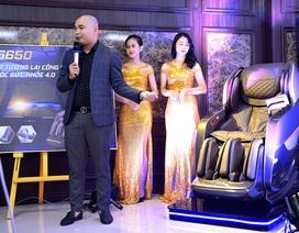 Ghế massage Fuji Luxury, sản phẩm hỗ trợ sức khỏe mùa dịch