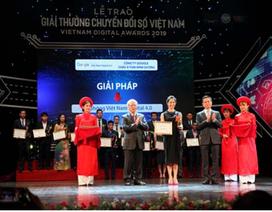 Giải thưởng Chuyển đổi số Việt Nam 2020 chuẩn bị vào vòng sơ loại