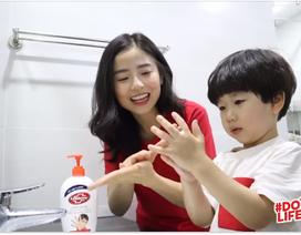 Chùm thí nghiệm chứng minh sự cần thiết của việc rửa tay