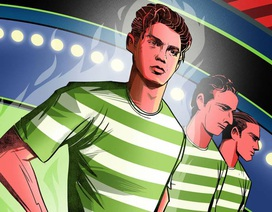 """C.Ronaldo: Hành trình vươn mình tới """"thiên đường"""" Man Utd"""