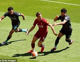 Cầu thủ Liverpool hăng say tập luyện chờ đón ngôi vô địch Premier League