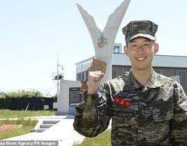 Son Heung Min trải lòng về cuộc sống trong quân ngũ