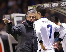 Bị mắng té tát, C.Ronaldo suýt khóc và định tẩn HLV Mourinho