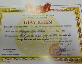 Khánh Hòa: Không khen thưởng tràn lan học sinh tiểu học