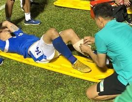 Chấn thương nặng, Hải Huy lỡ cơ hội đá vòng loại World Cup