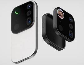 Độc đáo ý tưởng smartphone với cụm camera… có thể thay thế
