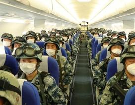 Trung Quốc triển khai hàng nghìn quân diễn tập sát Ấn Độ
