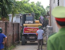 Vụ bịt lối đi nhà cụ bà liệt giường ở Hà Nội: Cưỡng chế nốt vi phạm