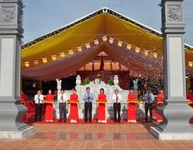 Khánh thành Đền thờ Bác Hồ và các Anh hùng liệt sỹ tỉnh Quảng Bình