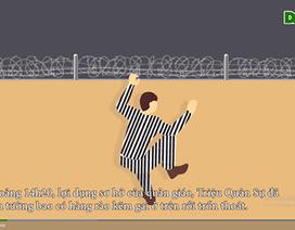 Phạm nhân giết người Triệu Quân Sự đã trốn chạy như thế nào?