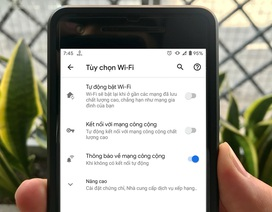 Cách tắt tính năng bật Wi-Fi tự động trên điện thoại Android