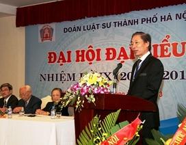 Báo cáo kết quả xác minh tố cáo Chủ nhiệm Đoàn Luật sư Hà Nội