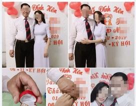 """Cho thôi việc """"thầy giáo 53 tuổi đang có vợ, đính hôn với học trò cũ"""""""