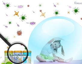 Kháng thể Lactoferrin trong sữa PureLac giúp trẻ khỏe mạnh, tránh ốm vặt