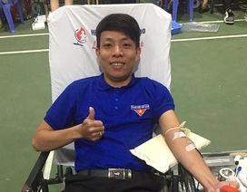 Bí thư Đoàn gần 40 lần hiến máu cứu người