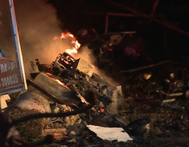 Cháy lúc nửa đêm, 7 người may mắn thoát thân