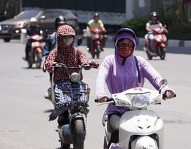 Nắng nóng gay gắt trên 39 độ C, tia UV ở mức gây hại rất cao