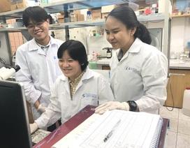 Sinh viên nghiên cứu công nghệ protein xét nghiệm nhanh Covid-19