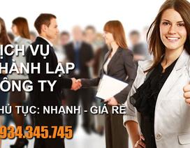 Địa chỉ dịch vụ thành lập công ty uy tín tại Hà Nội