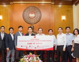 Tập đoàn Lotte trao 3,66 tỷ đồng, chung tay cùng Việt Nam phục hồi sau Covid-19
