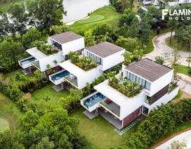 """Biệt thự theo phong cách """"sang trọng tối giản"""" trong khu nghỉ dưỡng 5 sao"""
