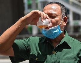 Hà Nội: Mát lòng trà chanh đá miễn phí giữa ngày nắng đỉnh điểm
